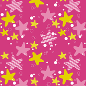 stars, pink