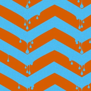melting chevron