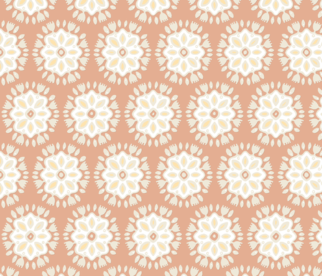 FLOR TERRA fabric by scrummy on Spoonflower - custom fabric