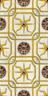 Elizabeth I. Armada Portrait fabric