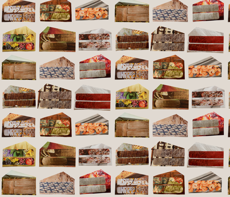 Cake Slices fabric by mongiesama on Spoonflower - custom fabric