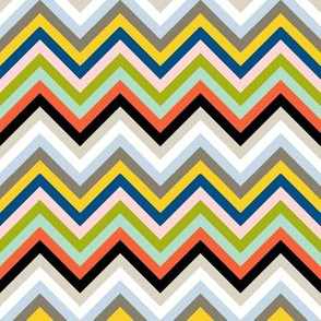 Open Book Chevron || book stripe stripes geometric arrows 70s