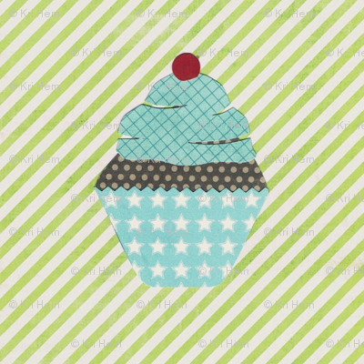 cake collage cupcake lime