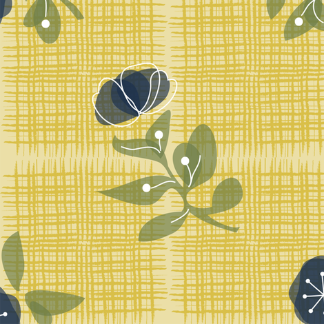 Ms Rosemary fabric by bee&lotus on Spoonflower - custom fabric