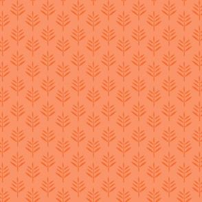 OrangePeachFoliageRepeat