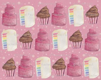 pink_paper_cake