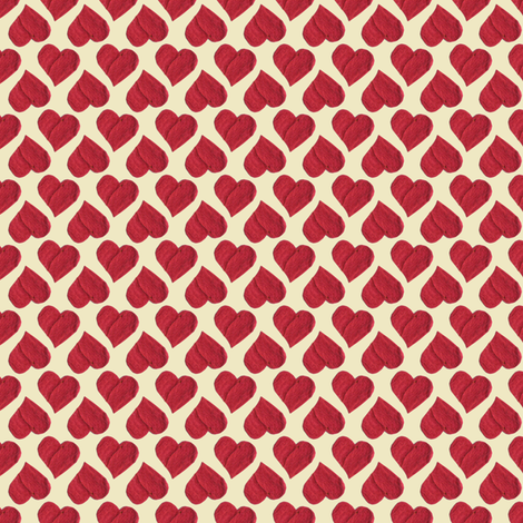 The Queen of Hearts'  Party Cloth. fabric by rhondadesigns on Spoonflower - custom fabric