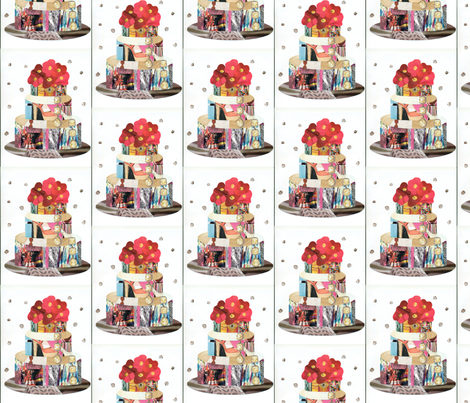 Paper Cakes fabric by tinamarie:) on Spoonflower - custom fabric