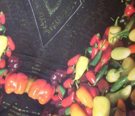Hot Pepper Geo Pattern