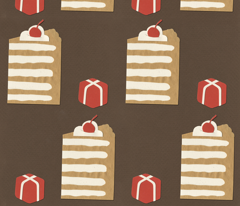 Grand gateau/Petit fours fabric by theboerwar on Spoonflower - custom fabric
