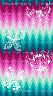 Verity's Ombre Butterflies