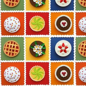 100 Percent Paper Cakes