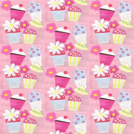 Cupcakes fabric by taramcgowan on Spoonflower - custom fabric