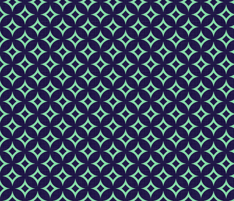 diamond_circles_mint fabric by holli_zollinger on Spoonflower - custom fabric