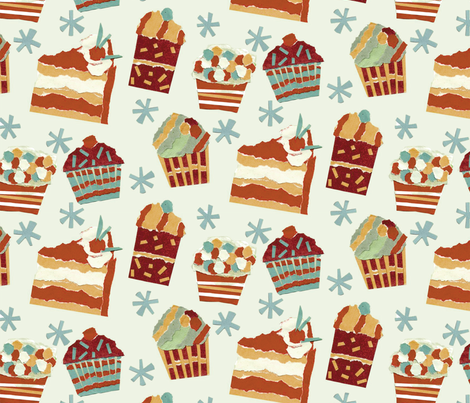 A nice slice fabric by cjldesigns on Spoonflower - custom fabric