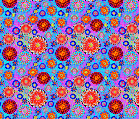 flower child 1 fabric by elarnia on Spoonflower - custom fabric