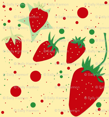 Teeny Strawberries