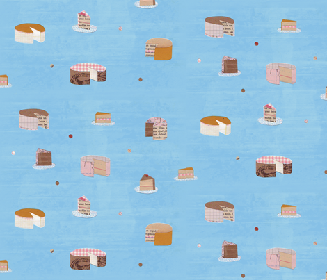 Eat Your Words fabric by jenimp on Spoonflower - custom fabric