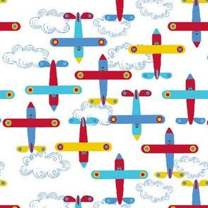les avions de Léon M