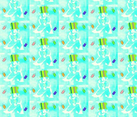 Gan Gal - Baby Gabriel on 11, July 2012 fabric by _vandecraats on Spoonflower - custom fabric
