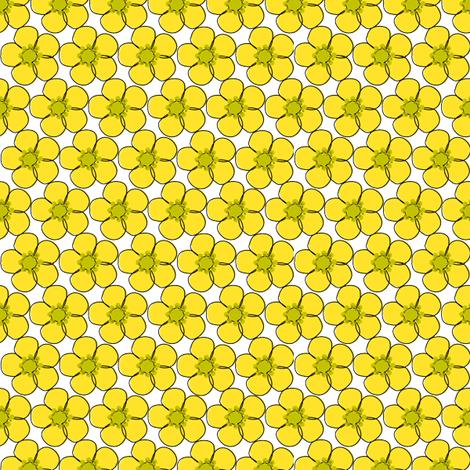 buttercupglass fabric by bussybuffu on Spoonflower - custom fabric