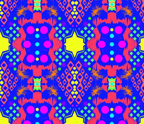 TRIBAL FLUO fabric by maruqui on Spoonflower - custom fabric