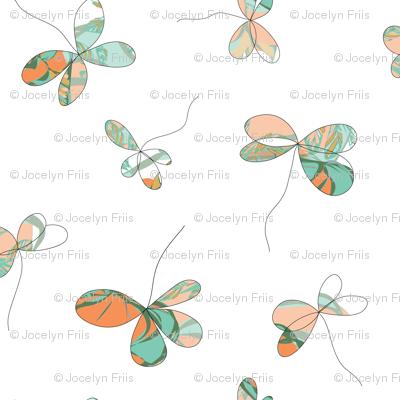 Flutterby Four Leaf Clover