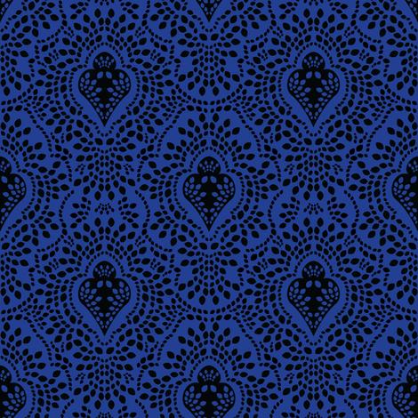 Indigo Ink fabric by robyriker on Spoonflower - custom fabric