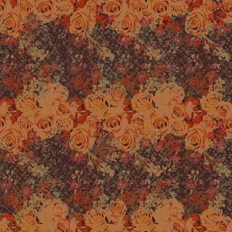 rose fabric by lookkaleidoscope on Spoonflower - custom fabric
