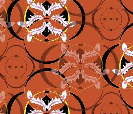 circles fabric by lookkaleidoscope on Spoonflower - custom fabric