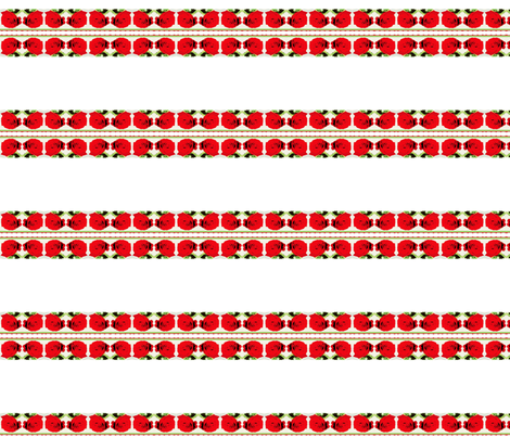 Red Roses Fabric on July 12, 2012 fabric by _vandecraats on Spoonflower - custom fabric