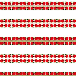 Red Roses Fabric on July 12, 2012