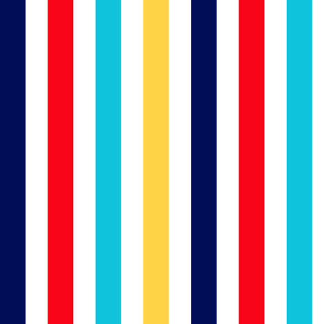 Summer Stripes Vertical fabric by the_pear_trees on Spoonflower - custom fabric