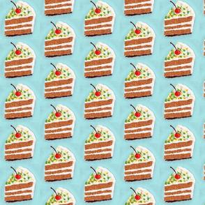 Porción de pastel - collage