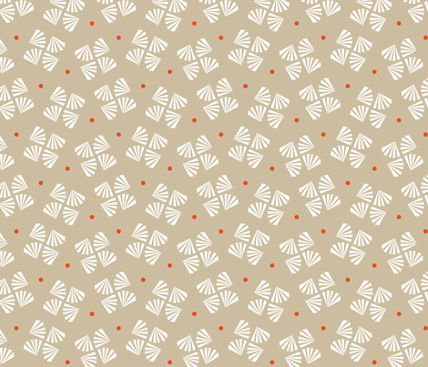 Square Flower Art Déco fabric by happy_to_see on Spoonflower - custom fabric