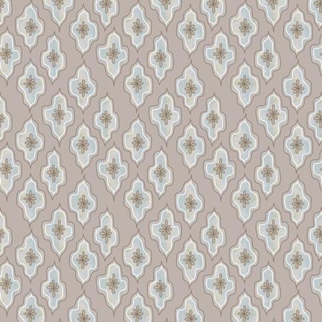dappled lozenge - mink fabric by fox&lark on Spoonflower - custom fabric