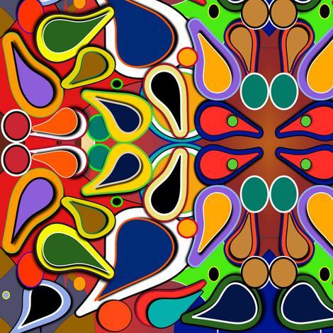 PaisleyPrintPop fabric by chubichics on Spoonflower - custom fabric