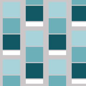 Paint Chips- Aqua