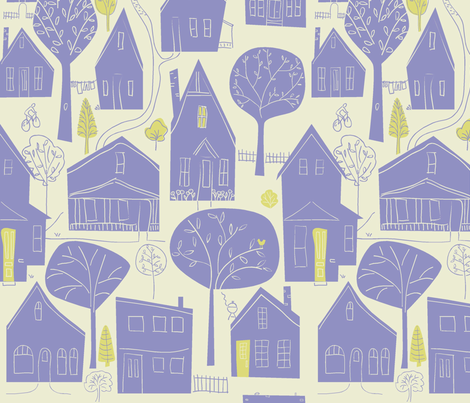 en_ville fabric by antoniamanda on Spoonflower - custom fabric