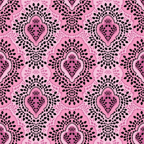 Paris Breeze Damask fabric by robyriker on Spoonflower - custom fabric