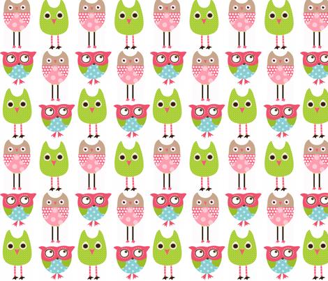 Owlsfab fabric by natitys on Spoonflower - custom fabric