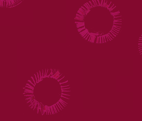 cestlaviv_H2 red fabric by cest_la_viv on Spoonflower - custom fabric