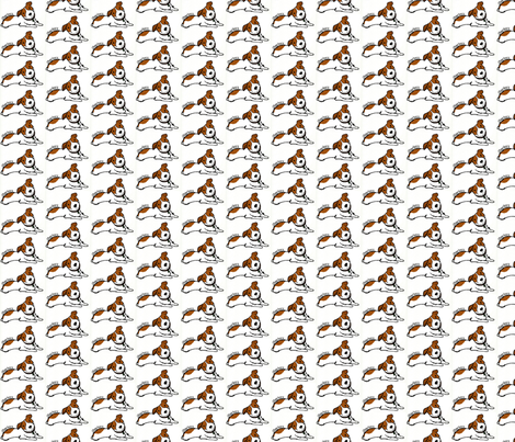 Jack Russell Sharkey 2 fabric by srstoltz on Spoonflower - custom fabric