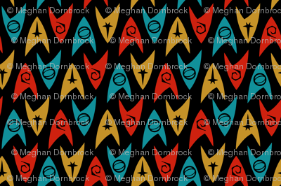 Star Trek TOS Insignias (4-color)