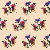 vintage floral summer