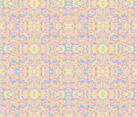 happy isborn rosa fabric by blumenlimonade on Spoonflower - custom fabric