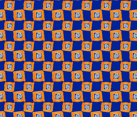 Blue Cheese Singles fabric by donna_kallner on Spoonflower - custom fabric