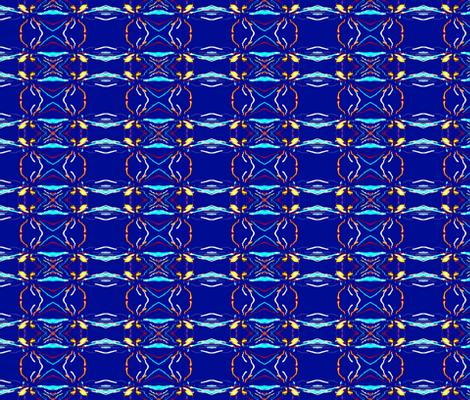 Cambridge Night Lights fabric by robin_rice on Spoonflower - custom fabric