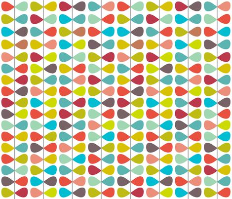 Cherry Bowties fabric by smitche on Spoonflower - custom fabric