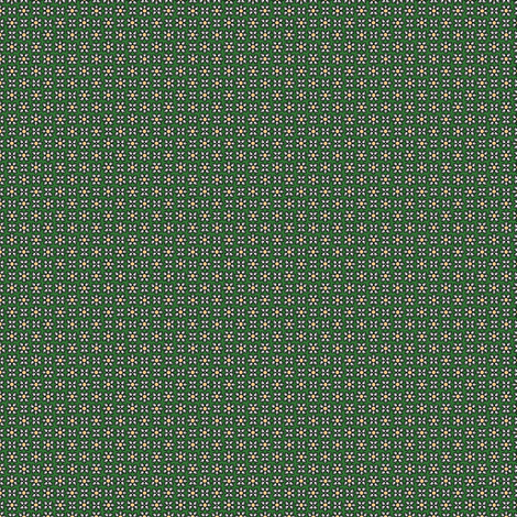 Floral Dot gray green © 2012 by Jane Walker fabric by artbyjanewalker on Spoonflower - custom fabric